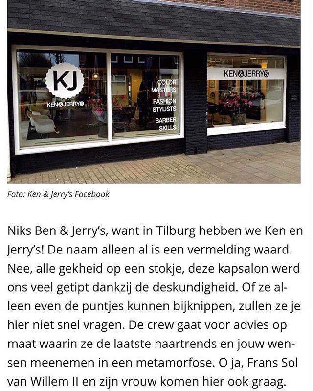 Gespot in Brabants Dagblad! #kenenjerrys #Tilburg #brabantsdagblad thanksss ya'll ?