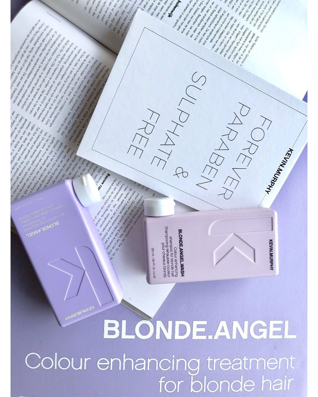 BLONDE.ANGEL.WASH // BLONDE.ANGEL TREATMENT ? // Blondes have more fun! ??♀️ @kevinmurphynl #kevinmurphy #kevinmurphyproducts #skincareforyourhair #ecofriendly ? #savetheplanet #crualtyfree // parabeen en sulfaat vrij✔️ // People need nature, but nature doesn't need people ? // ? photo made @kenenjerrys