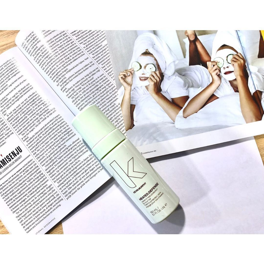 HEATED.DEFENSE // leave in heat protection for your hair  @kevinmurphynl #kevinmurphy #kevinmurphyproducts #skincareforyourhair #ecofriendly ? #savetheplanet #crualtyfree // parabeen en sulfaat vrij✔️ // People need nature, but nature doesn't need people ? // ? photo made @kenenjerrys